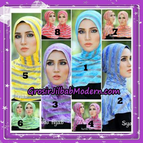 Dalaman Jilbab Ninja Anti Tembem ( Antem ) Lorek Original By Syahida Hijab Brand Series