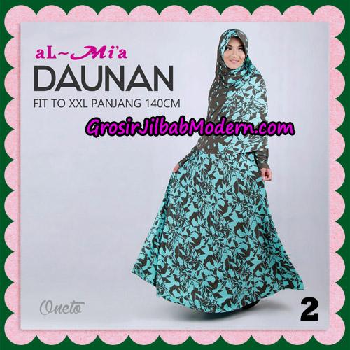 Gamis Setelan Daunan Cantik Original By Almia ( Al-Mi'a Brand ) No 2