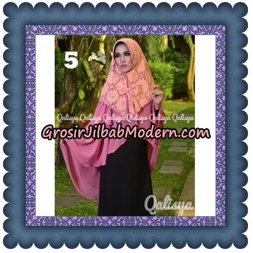 Jilbab Instant Khimar Sabqa Brukat Syar'i Trendy Original By Qalisya Brand No 5