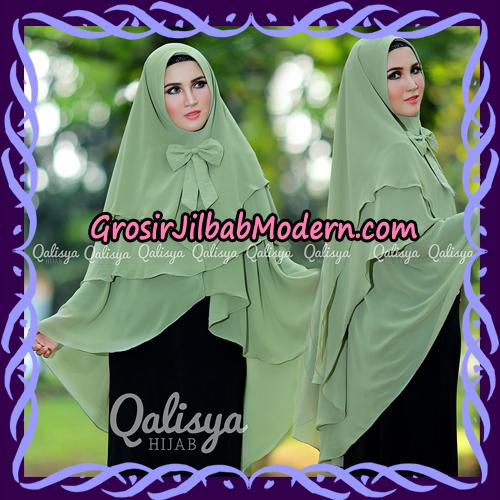 Jilbab Instant Khimar Sabqa Pet Syar'i Modis Original By Qalisya Brand - Non Pet