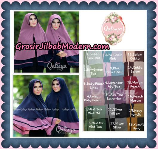 Jilbab Instant Khimar Syar'i Shakila Pet Ukuran XL Original By Qalisya Brand