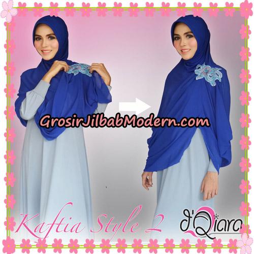 Jilbab Instant Modis 4 In 1 Kaftia Multi Fungsi Original By d'Qiara Hijab Brand - Cara Pemakaian Model 4
