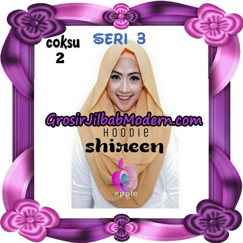 Jilbab Instant Modis Shireen Hoodie Seri 3 Original By Apple Hijab Brand No 2 Coksu