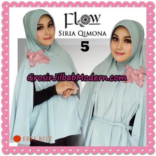 Jilbab Instant Modis Syria Qimora Trendy Original By Flow Idea Brand No 5 Mint