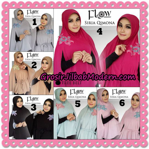 Jilbab Instant Modis Syria Qimora Trendy Original By Flow Idea Brand