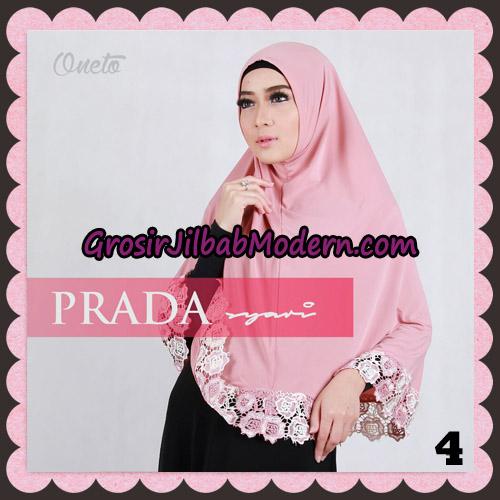 Jilbab Instant Prada Jumbo Syar'i Mawar Support By Oneto Hijab No 4