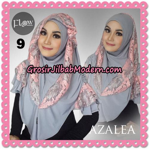 Jilbab Instant Trendy Cantik Syria Azalea Original By Flow Idea Brand No 9 Abu