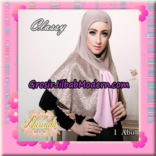 Jilbab Simple Modis Syria Classy Original By Narinda Hijab Brand No 1 Abu