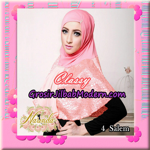 Jilbab Simple Modis Syria Classy Original By Narinda Hijab Brand No 4 Salem