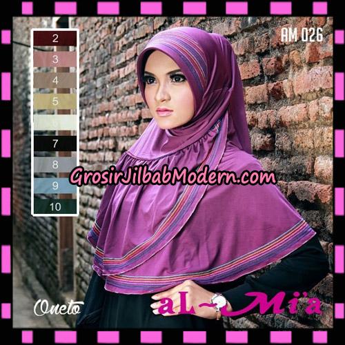Jilbab Almia Layer  AM 026 Original By Almia ( Al-Mi'a Brand )