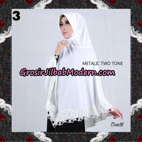 Jilbab Bergo Metalic Two Tone Support By Oneto Hijab No 3