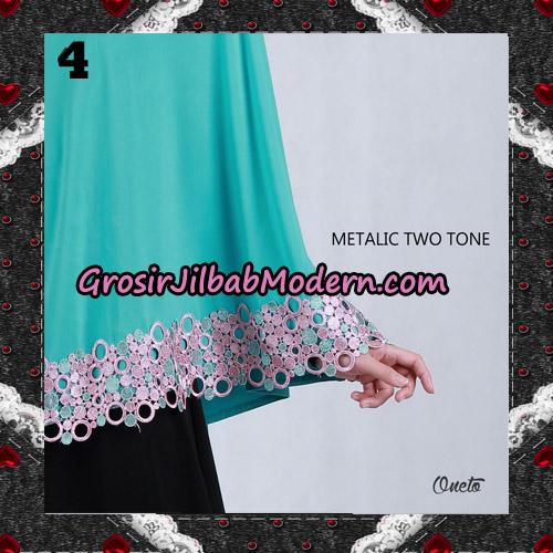 Jilbab Bergo Metalic Two Tone Support By Oneto Hijab No 4