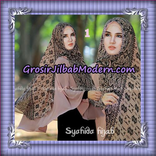 Jilbab Cerutti Non Pet Khimar Tenun Original By Syahida Hijab Brand - No 1