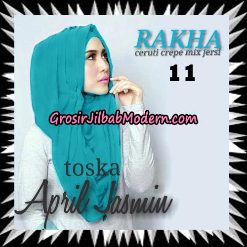 Jilbab Hoodie Instant Cantik Ala April Jasmine Seri 2 Original By Rakha Brand No 11 Tosca