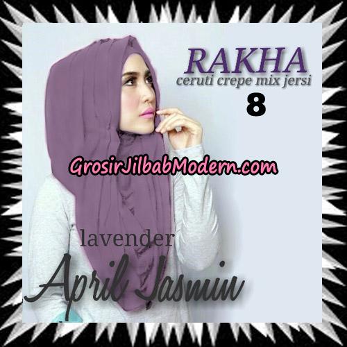 Jilbab Hoodie Instant Cantik Ala April Jasmine Seri 2 Original By Rakha Brand No 8 Lavender