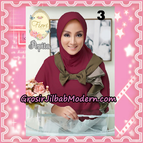Jilbab Instant Modis Daily Pepita Original by Fiori Design No 3