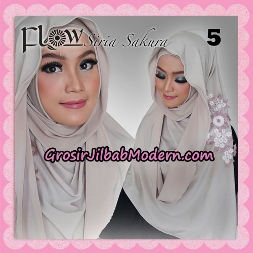 Jilbab Instant Modis Syria Sakura Original By Flow Idea NO 5