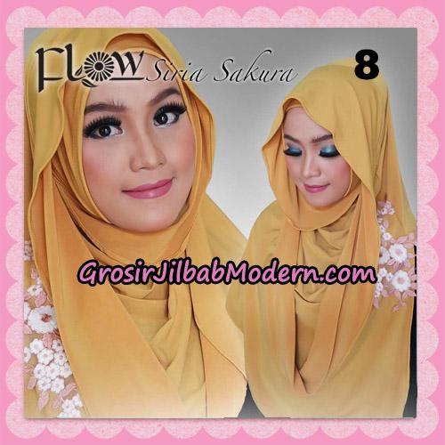 Jilbab Instant Modis Syria Sakura Original By Flow Idea No 8