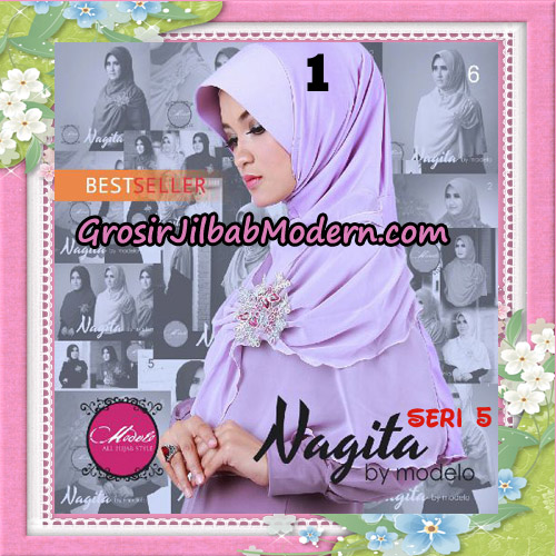 Jilbab Instant Trendy Nagita Seri 5 Original by Modelo Series No 1