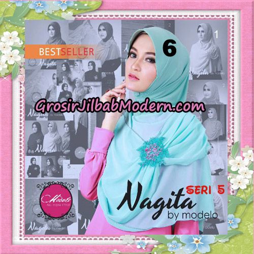 Jilbab Instant Trendy Nagita Seri 5 Original by Modelo Series No 6