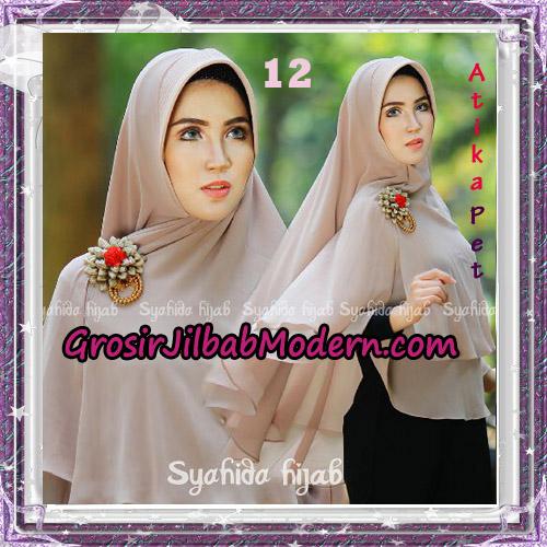 Jilbab Khimar Cerutti Syar'i Atika Pet Original By Syahida Hijab Brand No 12