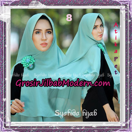 Jilbab Khimar Cerutti Syar'i Atika Pet Original By Syahida Hijab Brand No 8