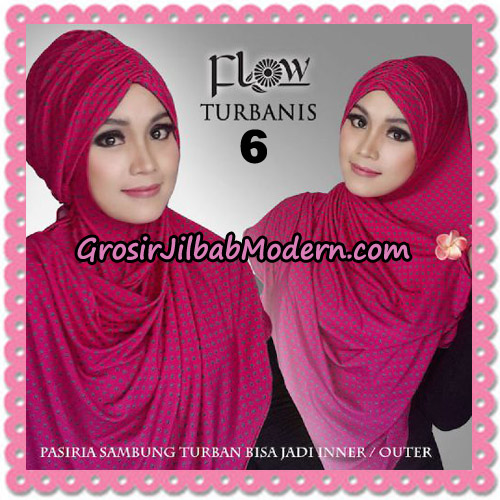 Jilbab Pasiria Turbanis Cantik Original by Flow Idea No 6