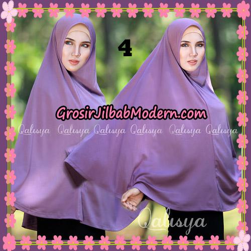 Jilbab Polos Basic Khimar Jersey Jeruk Original by Qalisya Brand No 4 Lavender