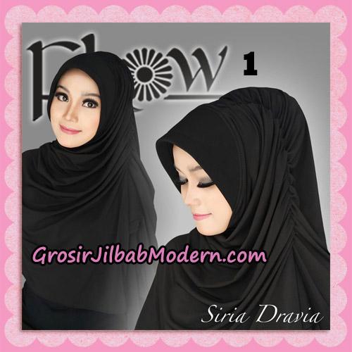 Jilbab Syria Pet Instant Dravia Original By Flow Idea No 1