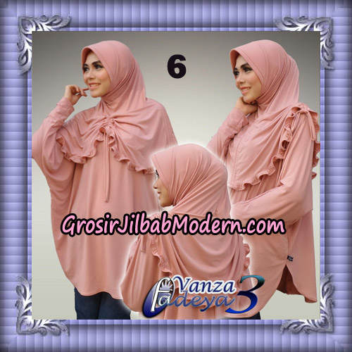 Jilbab Bergo Lengan Cantik Tunik Vanza Seri 3 Original By Fadeya Brand No 6