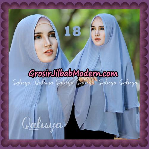 Jilbab Cerutti Khimar Azema Original by Qalisya Brand No 18