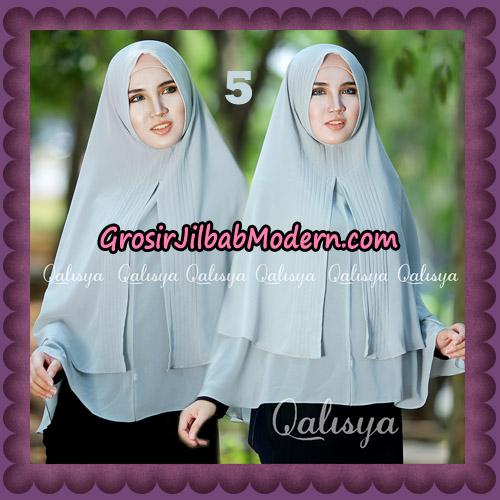 Jilbab Cerutti Khimar Azema Original by Qalisya Brand No 5