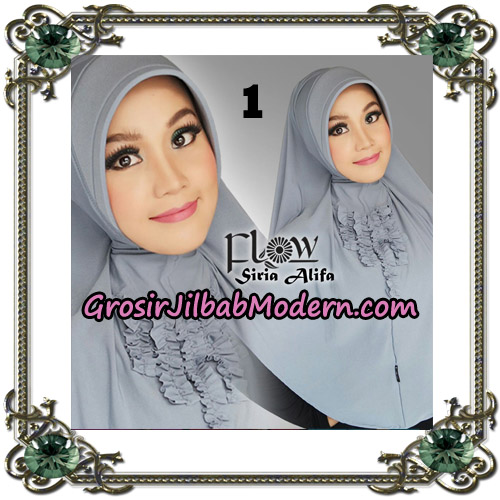 Jilbab Instant Syria Alifa Original By Flow Idea No 1