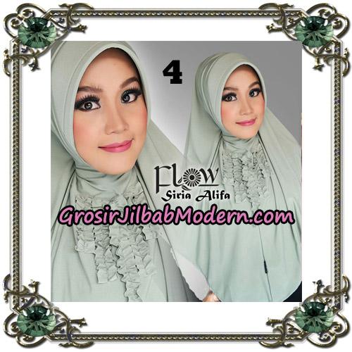 Jilbab Instant Syria Alifa Original By Flow Idea No 4