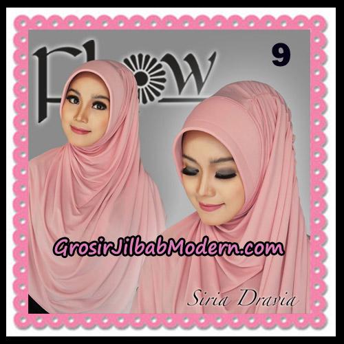 Jilbab Instant Syria Pet Dravia Seri 2 Original By Flow Idea No 9
