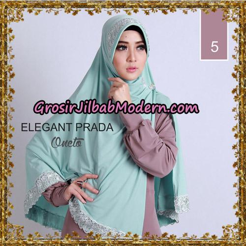 Jilbab Jumbo Elegant Prada Syar'i Support By Oneto Hijab No 5.