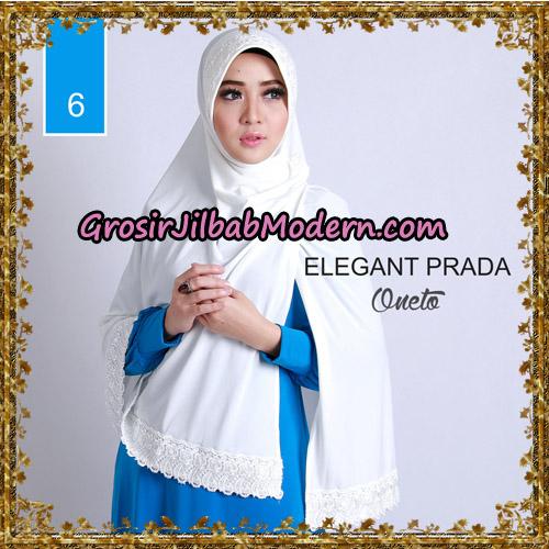 Jilbab Jumbo Elegant Prada Syar'i Support By Oneto Hijab No 6.