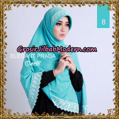 Jilbab Jumbo Elegant Prada Syar'i Support By Oneto Hijab No 8.