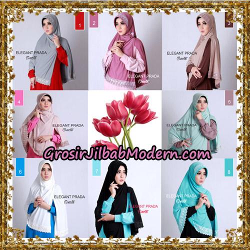 Jilbab Jumbo Elegant Prada Syar'i Support By Oneto Hijab.