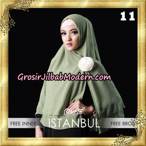 Jilbab Khimar Istambul Original By Sayra Hijab Brand No 11