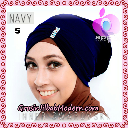 Inner Swarovski Cantik Original By Apple Hijab Brand No 5