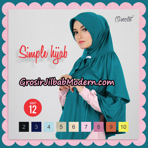 Jilbab Bergo Instant Simple Hijab Seri 12 By Firza Hijab Support Oneto