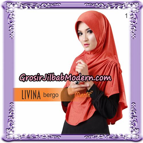 Jilbab Bergo Livina Simple Original By Oneto Hijab Brand No 1