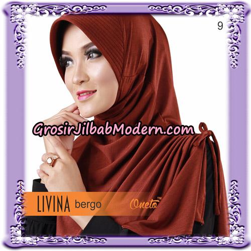 Jilbab Bergo Livina Simple Original By Oneto Hijab Brand No 9