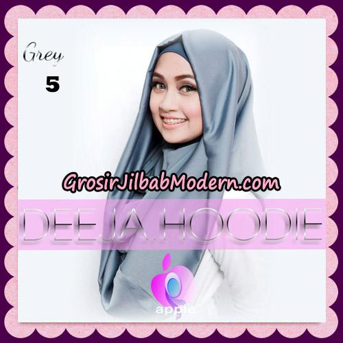Jilbab Instant Deeja Hoodie New Series By Apple Hijab Brand No 5