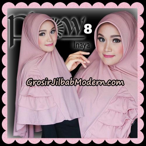 Jilbab Instant Jersey Korea Inaya Original By Flow Idea No 8