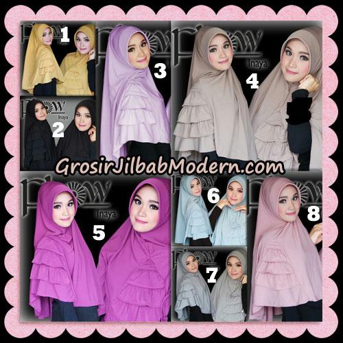 Jilbab Instant Jersey Korea Inaya Original By Flow Idea