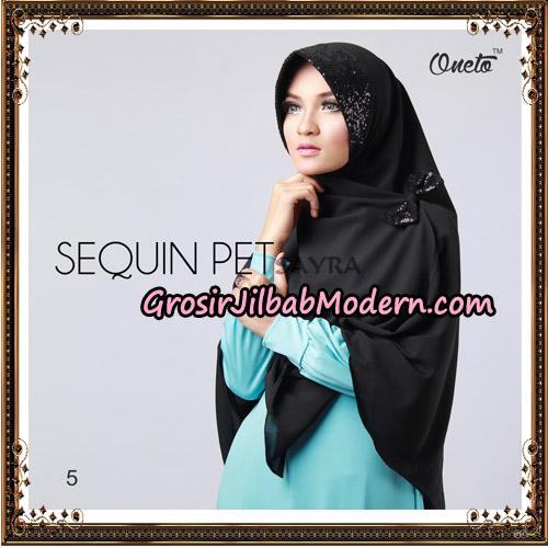 Jilbab Instant Sequin Pet Original By Sayra Hijab Brand No 5