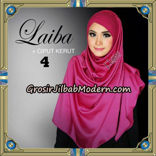 Jilbab Instant Silk Syria Laiba Original By Flow Idea No 4