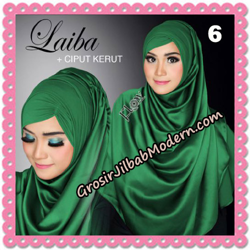 Jilbab Instant Silk Syria Laiba Seri 2 Original By Flow Idea No 6